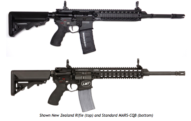 LMT Introduces Their New Zealand Rifle for Commercial Sale